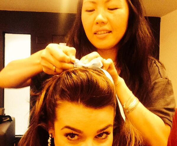 Lea Michele Tweets Backstage Look At New Cover Shoot