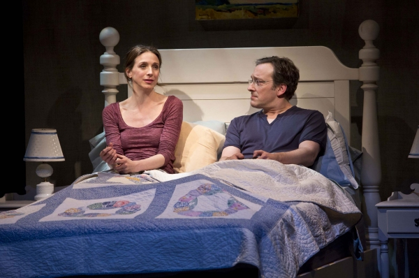 Marin Hinkle and Jeremy Shamos