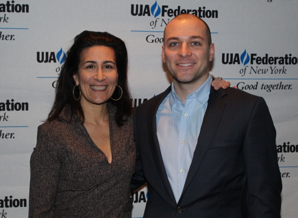 Jeanine Tesori and Peter Lerman