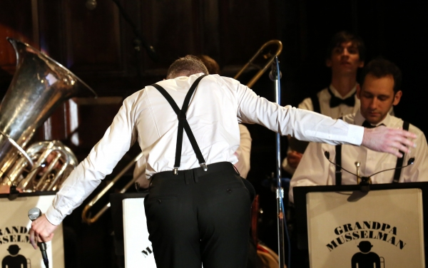 Photo Coverage: Euan Morton with Grandpa Musselman & His Syncopators Launch LIVE FROM GRAMERCY PARK at The Players Club