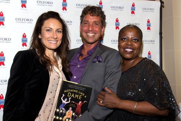 Laura Benanti, Eddie Shapiro, Lillias White Photo