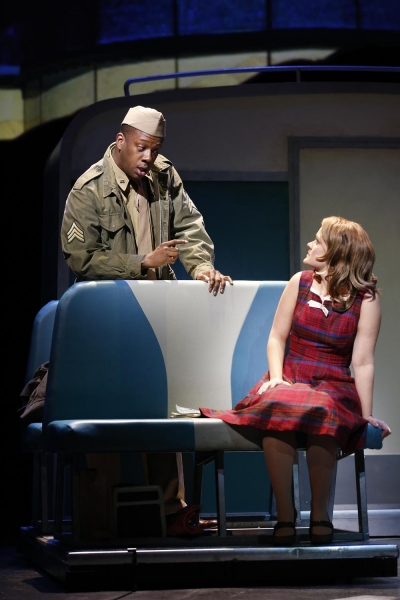 Photo Flash: First Look at Erin Driscoll, James Gardiner & Kevin McAllister in VIOLET at Ford's Theatre