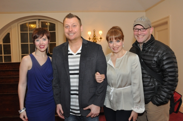 Scott Coulter (Director of tonights show) joins Carole J. Bufford, Jimmy Failla and Maxine Linehan