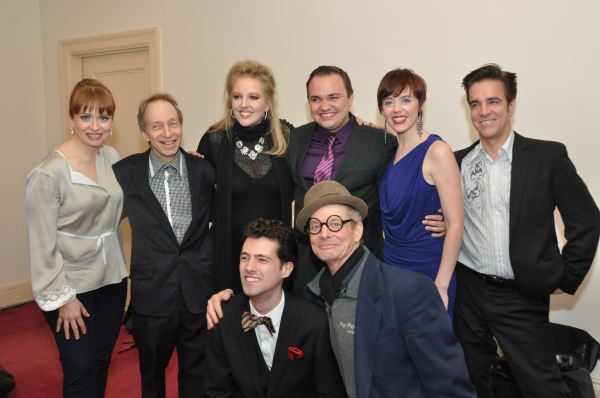 Maxine Linehan, Scott Siegel, Stacy Sullivan, William Blake, Carole J. Bufford Mike Murray, Liam Forde and Bill Irwin