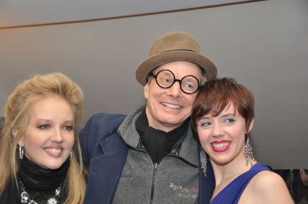 Stacy Sullivan, Bill Irwin and Carole J. Bufford