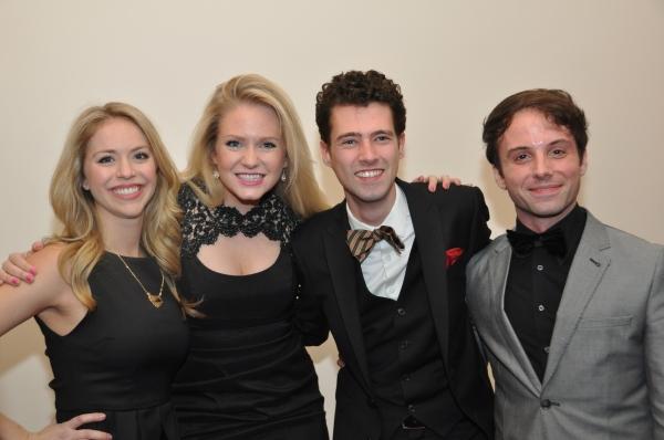 Liam Forde with Emily Ferantim Corbitt Williams and Marissa Miller