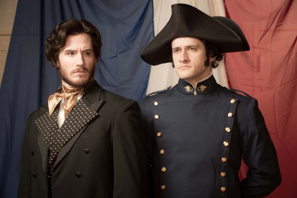 Kyle Olsen as Valjean, Preston Yates as Javert