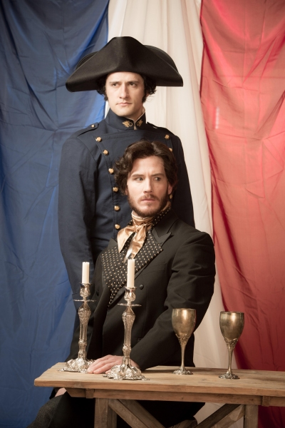 Preston Yates as Javert, Kyle Olsen as Valjean