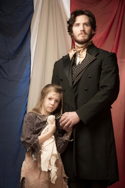 Elise Anderson as Young Cosette, Kyle Olsen as Valjean