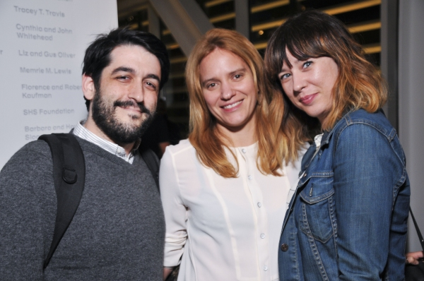 Evan Cabnet, Emily Rebholz , Sarah Laux