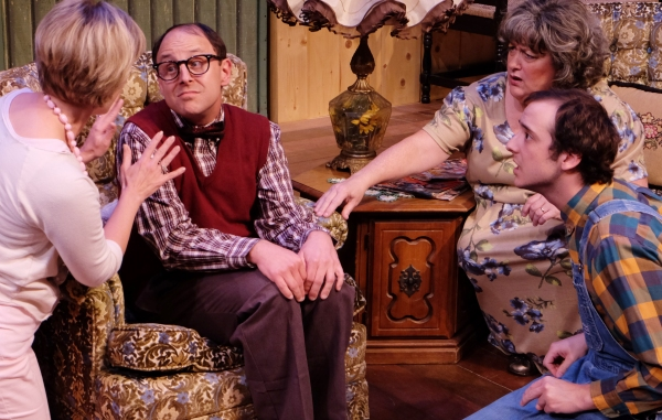 Photo Flash: First Look at Lamb's Players' THE FOREIGNER