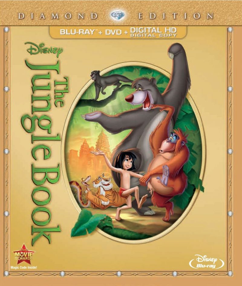 THE JUNGLE BOOK Blu-ray & DVD Now Available For Pre-Order, Out 2/11
