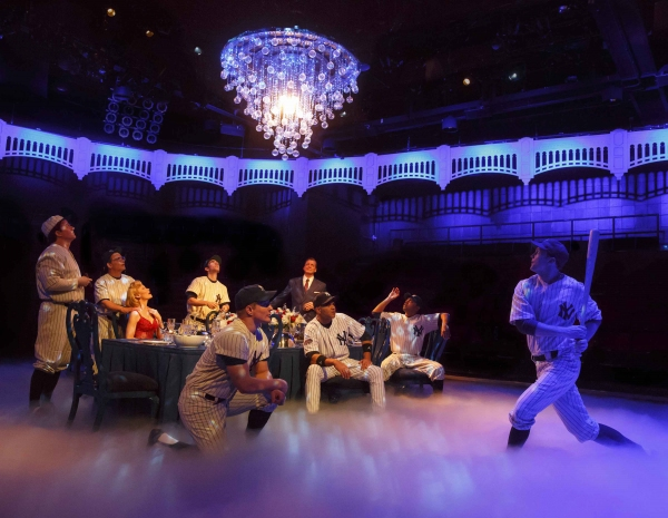 Photo Flash: Batter Up! First Look at Peter Scolari and More in Broadway's BRONX BOMBERS