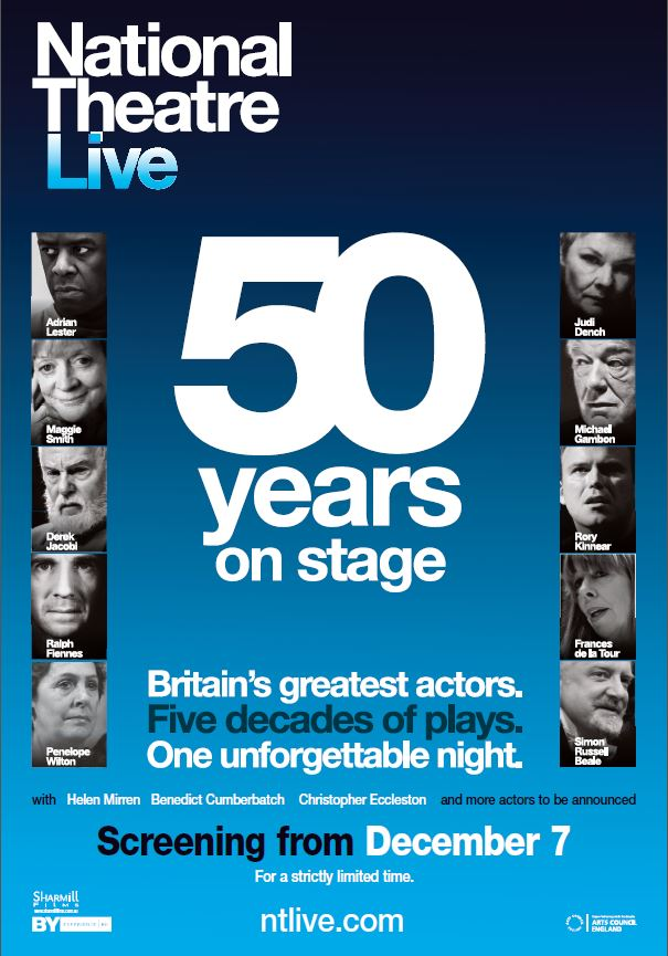 National Theatre's 50 YEARS ON STAGE 2-Disc DVD Now Available To Order