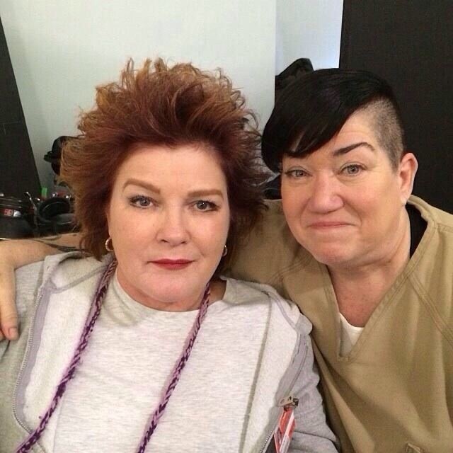 Lea DeLaria Featured In New ORANGE IS THE NEW BLACK Season Two Set Photos