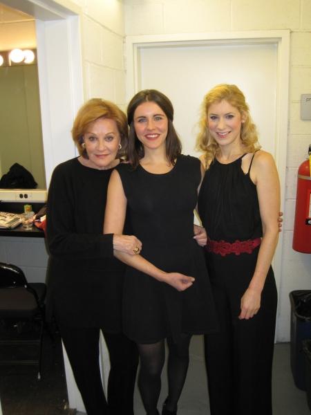 Cynthia Harris, Marianna McClellan and Charlotte Parry