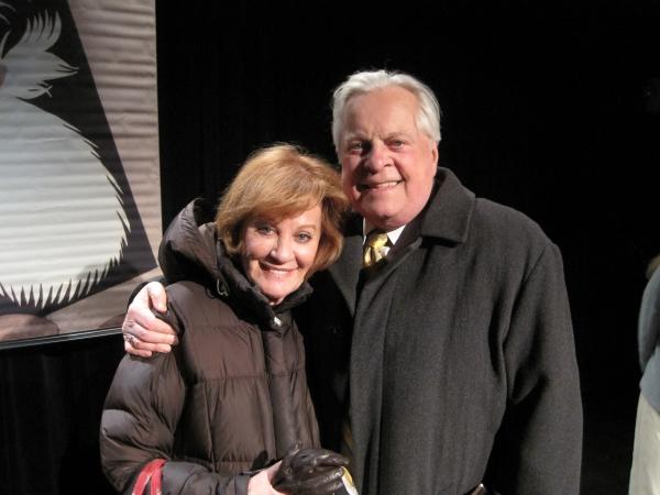 Cynthia Harris and Robert Osborne
