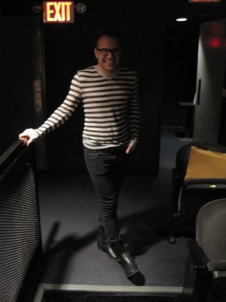 Jake McCoy, stage manager