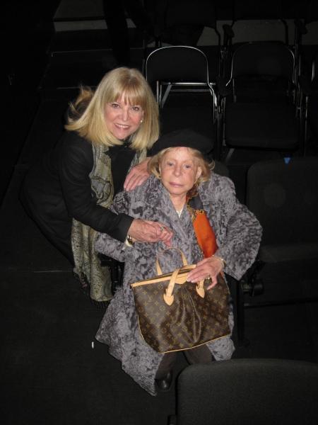 Marylee Martin Terrano and Anita Jaffe Photo