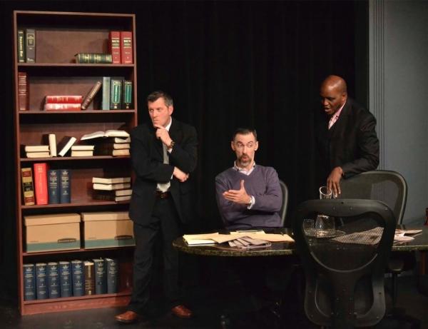 Robert Barwick, Mark Mason and Phillip Hannah. Photo