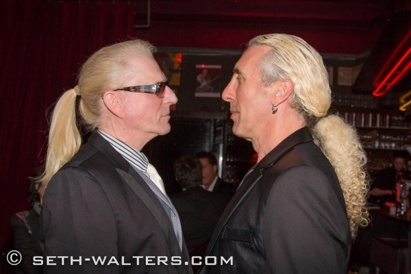 Ron Abel, Dee Snider Photo