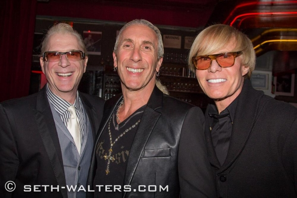 Ron Abel, Dee Snider, Chuck Steffan Photo