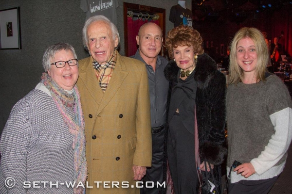 Christine Lavin, Ervin Drake, Gianni Valenti, Edith Drake, Lisa Lambert Photo