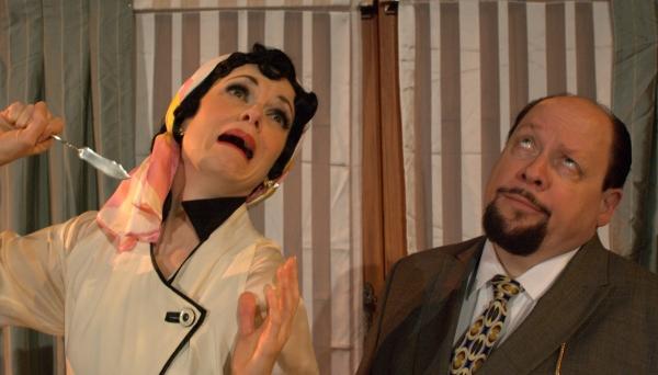 Photo Flash: First Folio Theatre's ROUGH CROSSING, Performances Begin Tonight