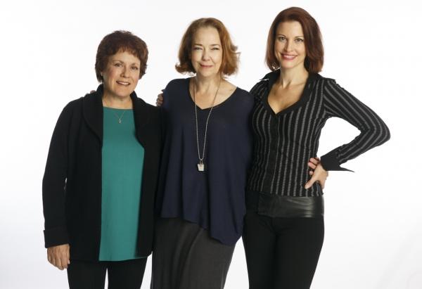 Judy Kaye, Harriet Harris and Rachel York