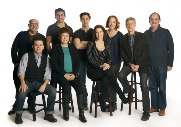 Photo Flash: Meet the Cast of Encores! LITTLE ME- Christian Borle, Rachel York & More!