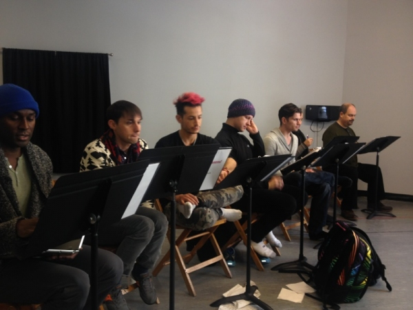 Exclusive Photo Flash: In Rehearsal with the Cast of PAGEANT!