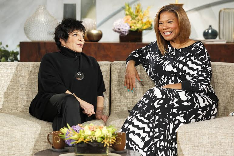 Liza Minnelli Set For THE QUEEN LATIFAH SHOW, 2/3