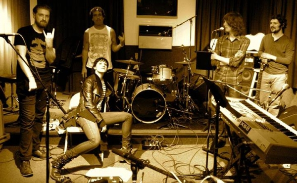 Photo Flash: HEDWIG AND THE ANGRY INCH Reveals 'Tits of Clay' Band with Lena Hall!