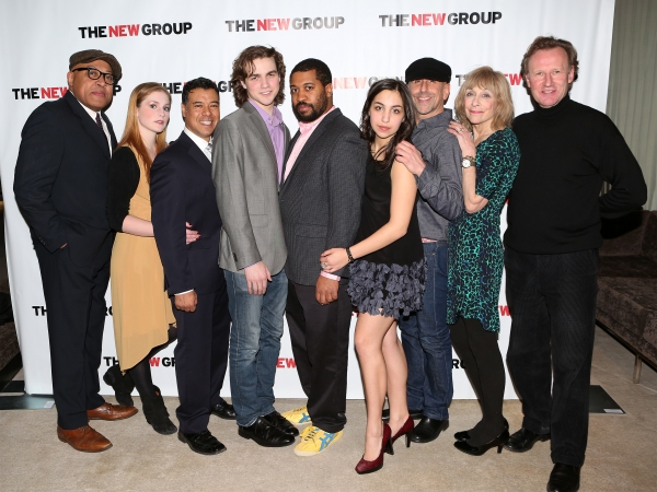 Keith Randolph Smith, Ella Dershowitz, David Anzuelo, Austin Cauldwell, Playright Thomas Bradshaw, Dea Julien, Director Scott Elliott, Laura Esterman and Daniel Gerroll