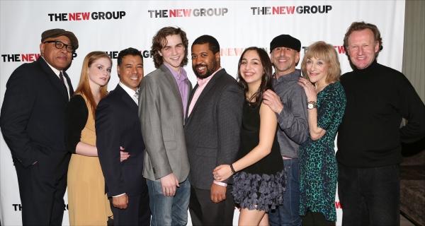 Keith Randolph Smith, Ella Dershowitz, David Anzuelo, Austin Cauldwell, Playwright Th Photo