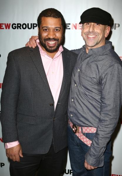 Playwright Thomas Bradshaw and Director Scott Elliott