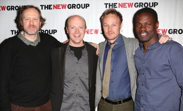 Andrew Garman, Jeff Biehl, Drew Hildebrand and Stephen Tyrone Williams Photo