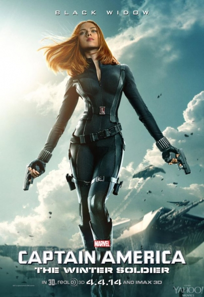 Photo Flash: 3 New Character Posters from CAPTAIN AMERICA: THE WINTER SOLDIER