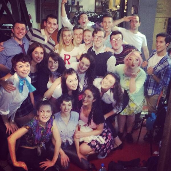 Photo Flash: GREASE Sequel COOL RIDER Revs Into the West End - Twitter Round-Up!