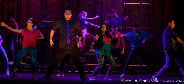Photo Flash: First Look at Eagle Theatre's FOOTLOOSE, Playing thru Feb 8