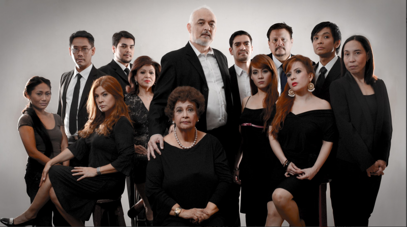 Baby Barredo, Pinky Amador to Lead Rep's AUGUST: OSAGE COUNTY