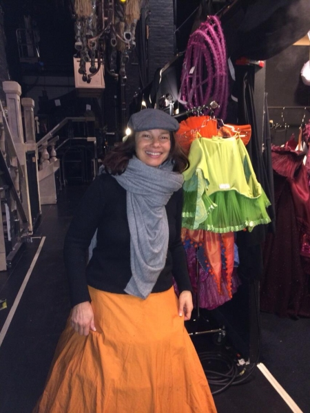 Photo Flash: CINDERELLA's Fran Drescher Gives Backstage Look at Wig & Costume Fittings