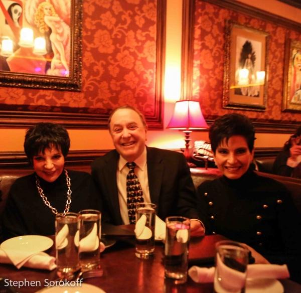 Liza Minnelli, Alan Lazar, Arlene Lazar