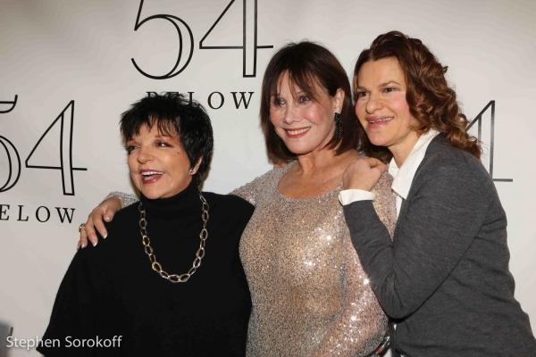 Liza Minnelli, Michele Lee, Sandra Bernard