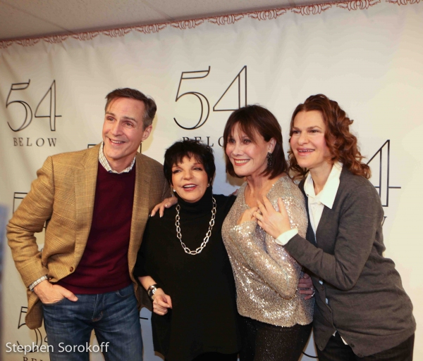 Howard McGillin, Liza Minnelli,Michele Lee, Sandra Bernhard Photo
