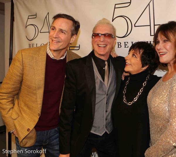 Howard McGillin, Ron Abel, Liza Minnelli, Michele Lee Photo