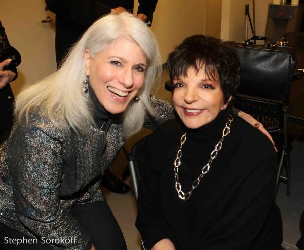 Jamie deRoy & Liza Minnelli Photo