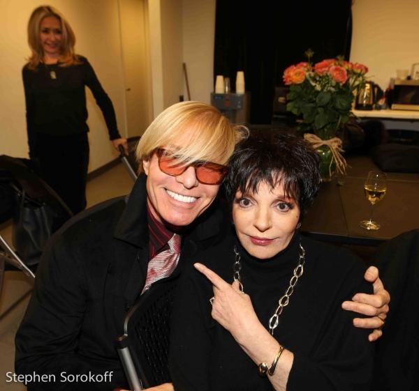 Chuck Steffan & Liza Minnelli Photo