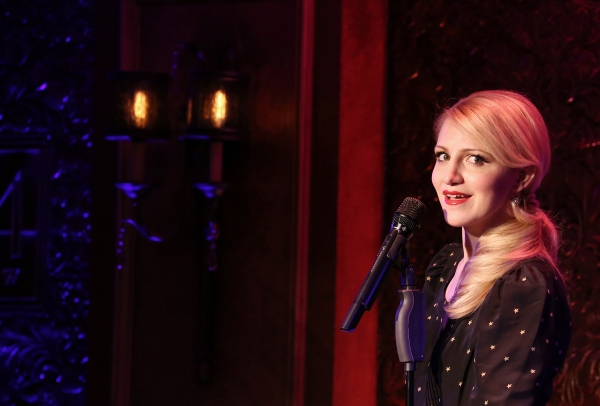Photo Coverage: Annaleigh Ashford Previews Her Show at 54 Below!