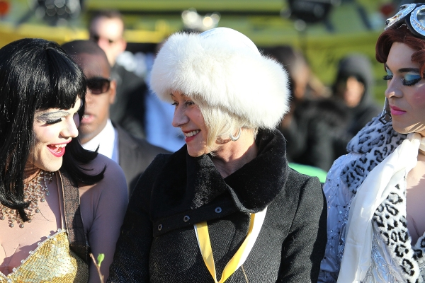 Photo Flash: Helen Mirren Honored as Hasty Pudding Theatricals' 2014 Woman of the Year
